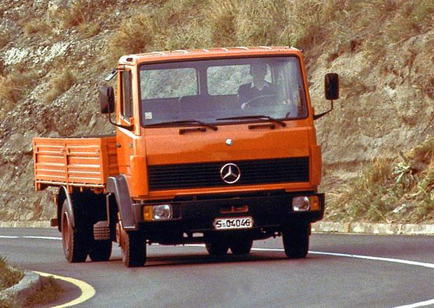 Mercedes-Benz: Pohled do minulosti rozvážkových nákladních vozů