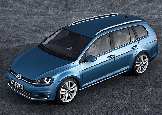 Nový VW Golf Variant jde do prodeje