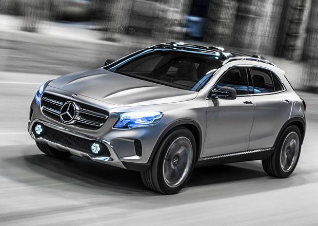 Mercedes-Benz Concept GLA m��� do �anghaje, s�riov� model se uk�e na podzim