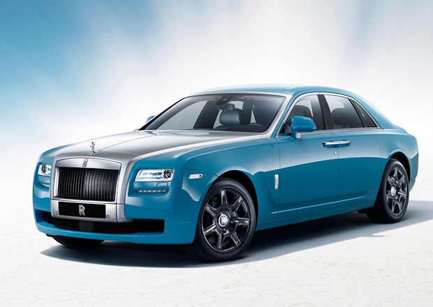 Rolls-Royce Ghost Alpine Trial Centenary Collection: 100 let star� inspirace