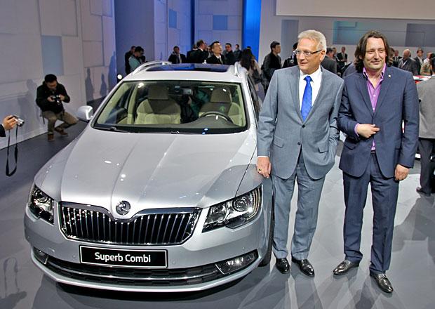 Exkluzivně: Škoda Superb facelift naživo!
