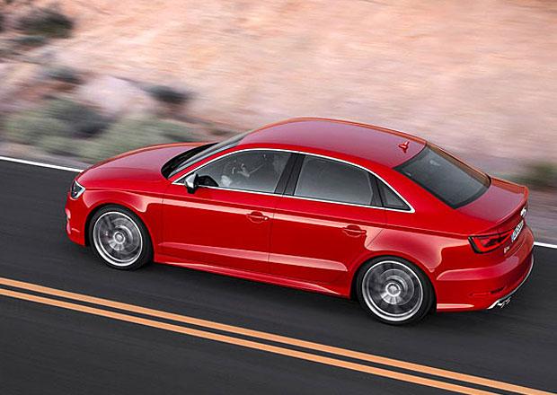 Sedan Audi A3 zamíří k prodejcům ještě letos na jaře