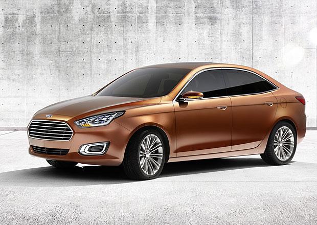 Ford Escort se vrací, zatím jako koncept pro Čínu