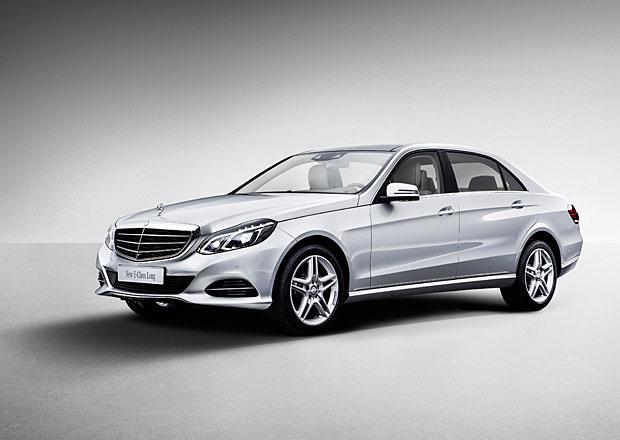 Mercedes-Benz E s prodlouženým rozvorem oficiálně představen