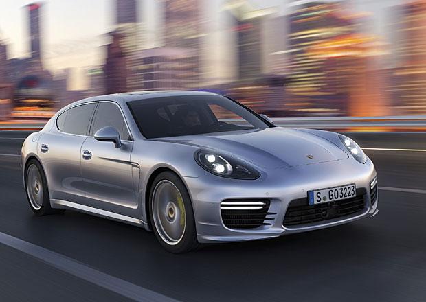 Modernizované Porsche Panamera dorazí i s prodlouženým rozvorem