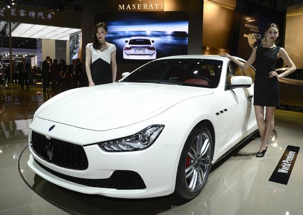 Dieselové Maserati Ghibli oficiálně: 202 kW a 600 N.m