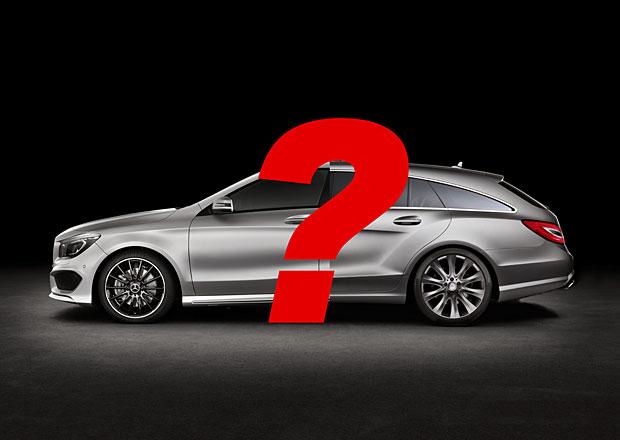 Mercedes-Benz chystá CLA Shooting Brake