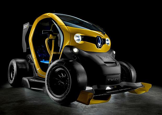 Renault Twizy Renault Sport F1: Elektrická formulka sprintuje z 0-100 km/h za 6 sekund