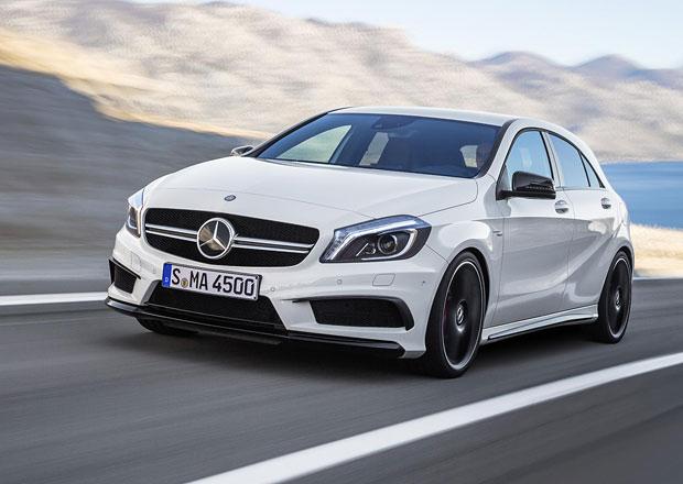 Mercedes A 45 AMG stojí v Česku 1.185.800 korun