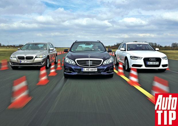 Audi A6 Avant vs. BMW 5 Touring vs. Mercedes E Kombi