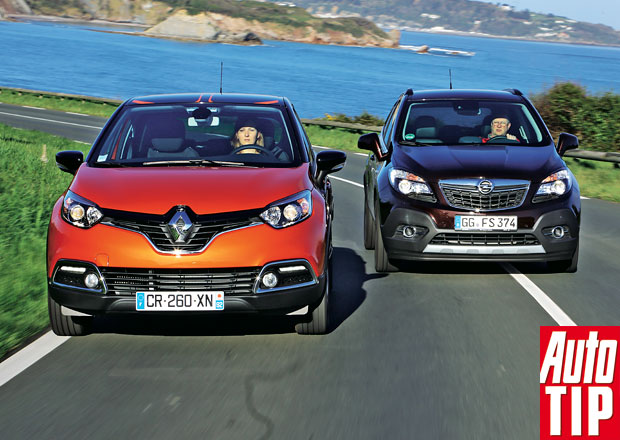 Renault Captur 1.2 TCe vs. Opel Mokka 1.4 Turbo: �erstv� m�dn� vlna
