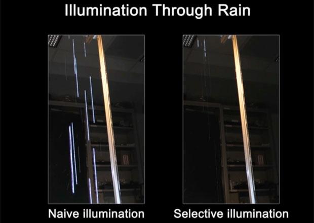 Intel vyvíjí světlomety, ve kterých neuvidíte déšť ani sníh