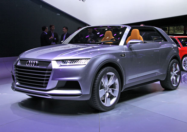 Audi Q8 půjde do výroby jako konkurent Range Roveru Sport