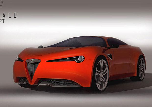 Alfa Romeo Stradale Concept: Vize nástupce 8C Competizione