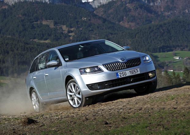 Škoda Octavia v Německu skóruje, je pátým nejprodávanějším modelem