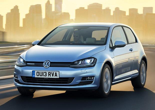 VW Golf BlueMotion míří k zákazníkům, se spotřebou nafty 3,2 l/100 km