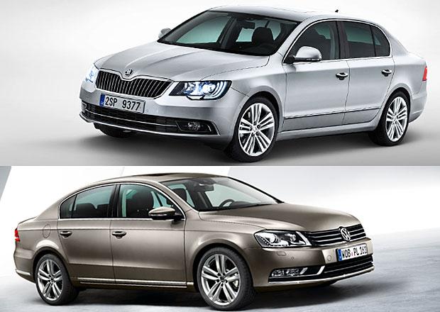 Volkswagen Passat vs. Škoda Superb: Designový duel