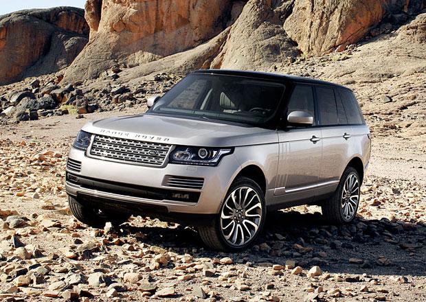Hybridní Range Rovery se objeví ve Frankfurtu