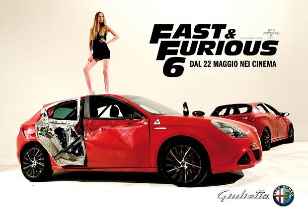 Alfa Romeo Giulietta hvězdou reklam na Fast & Furious 6
