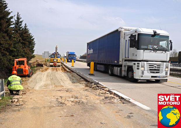 Objízdné trasy při opravě D1: Žádné se neplánují!