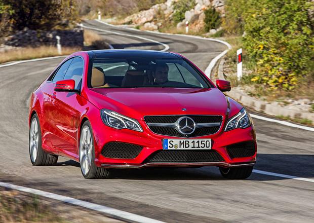 Mercedes-Benz E kup� a kabrio na velk� fotogalerii (+ kompletn� data a �esk� ceny)