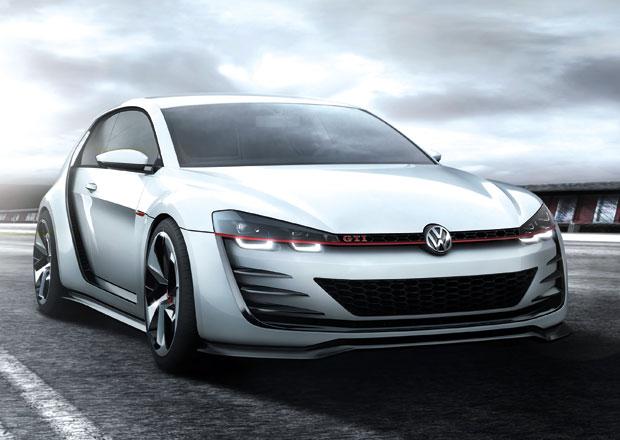 Volkswagen Design Vision GTI: Šestiválcový Golf pro Wörthersee (nové foto)