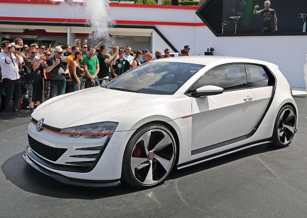 VW Design Vision GTI Concept: Supersportovní sen na nových fotkách
