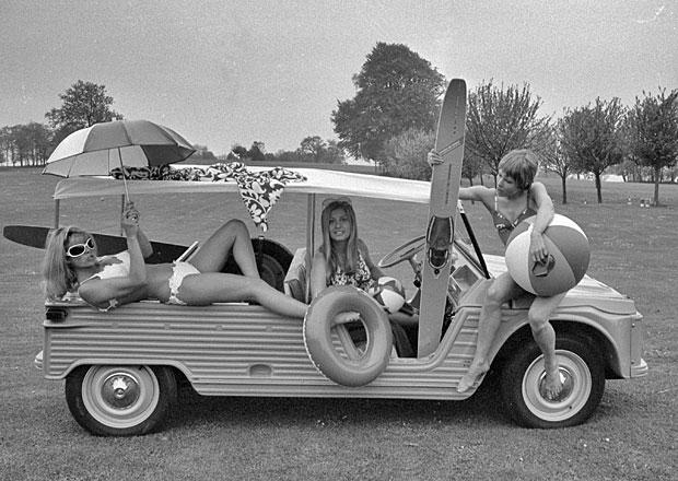 Citroën Méhari: Dvojitý šíp pro volný čas měl premiéru před 45 lety