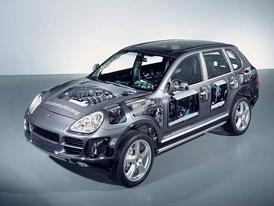 Porsche: průhledný cayenne