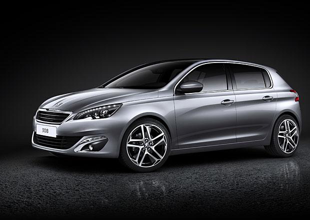 Peugeot 308: Nová generace je kratší, nižší a lehčí (nové foto)
