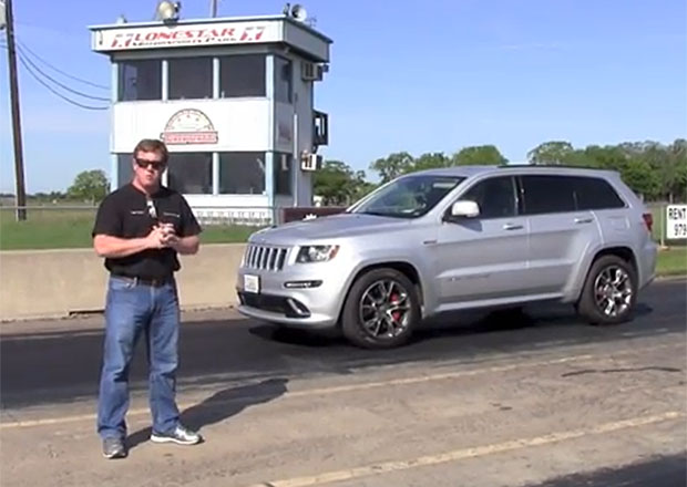 Jeep Grand Cherokee SRT8 Hennessey HPE650: Americké kladivo na X5 M (video)