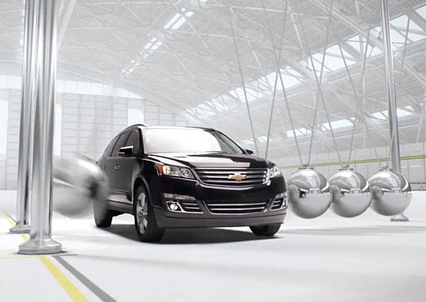 Chevrolet předvádí první středový airbag (+video)