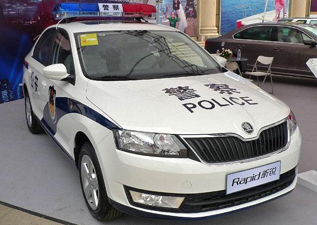 Škoda Rapid bude pomáhat a chránit, v Číně