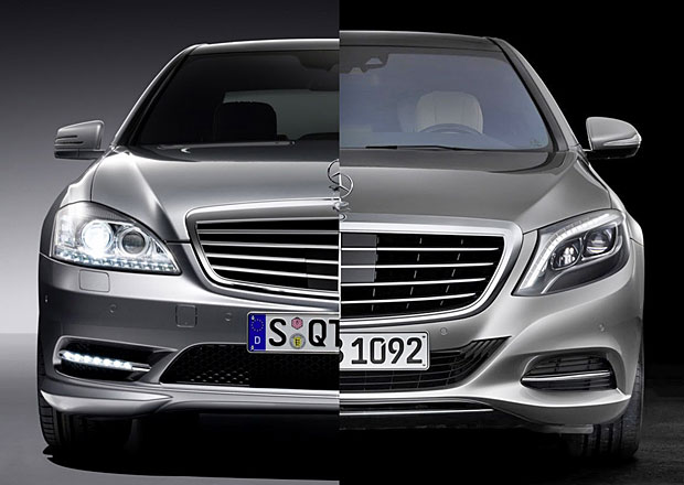 Designový duel: Mercedes-Benz S W221 vs. S W222