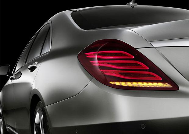 Osvětlení nového Mercedesu S: 500 diod a žádná žárovka