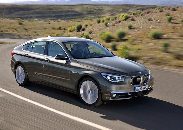 BMW řady 5 2013: Blinkry v zrcátkách a větší kufr pro Gran Turismo