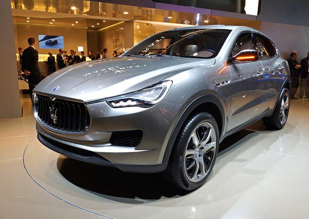 Maserati Levante má svou značku vrátit k zisku