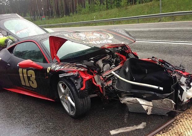 Gumball 3000 2013 už má dvě automobilové oběti
