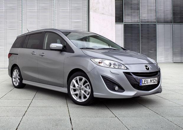 Mazda 5: MPV s posuvnými dveřmi stojí pod 330.000 Kč