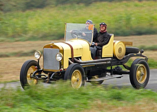 Sedm modelů značky Škoda se představí na Oldtimer Bohemia Rally 2013