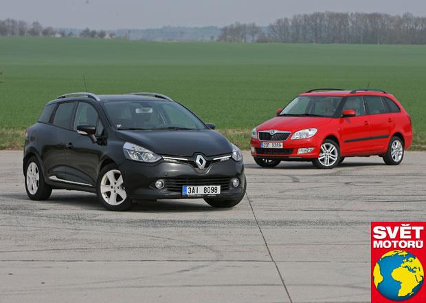 Renault Clio Grandtour vs. Škoda Fabia Combi