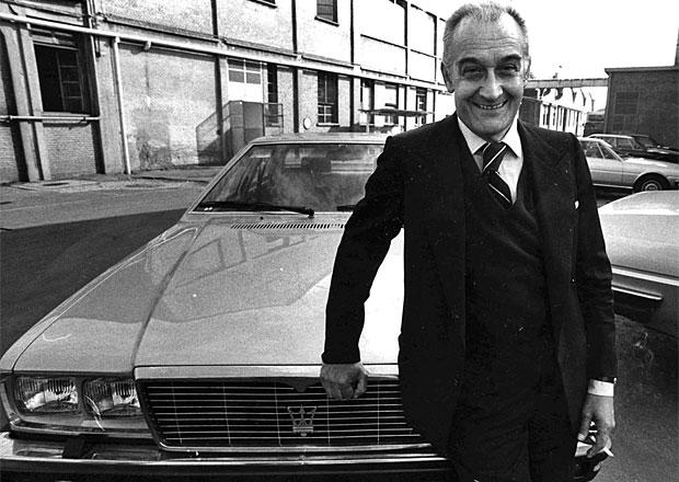 Před 10 lety zemřel Alejandro de Tomaso, zachránce Maserati a tvůrce Pantery