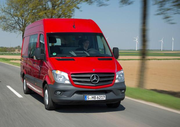 Mercedes-Benz Sprinter: Velká fotogalerie a nové informace
