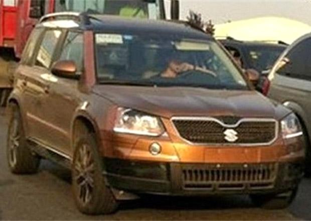Modernizovaná Škoda Yeti maskovaná jako Suzuki Grand Vitara (aktualizováno)