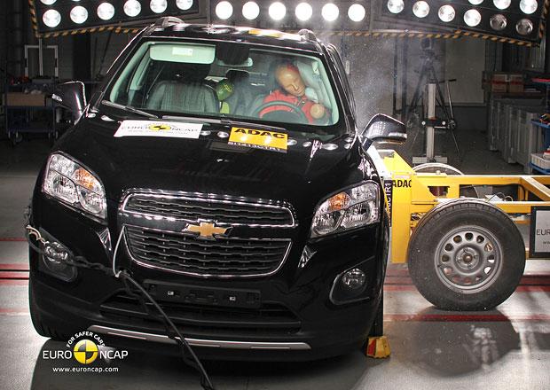 Euro NCAP 2013: Chevrolet Trax – Plný počet hvězd pro malé SUV