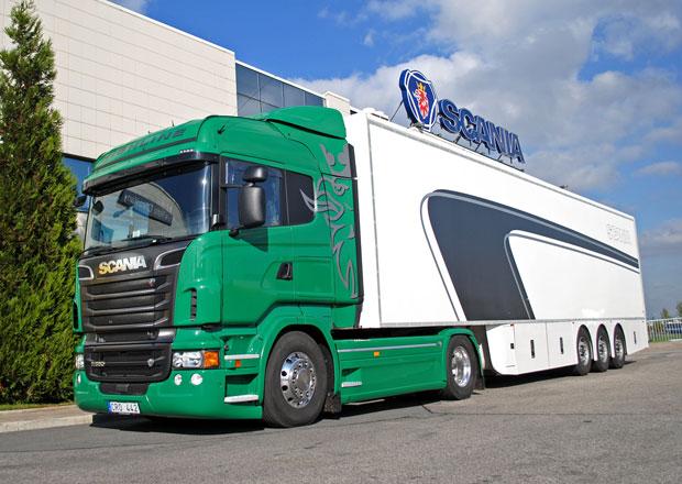 Test: Scania R 580 Euro 5 - Osmiv�lcov� vkus