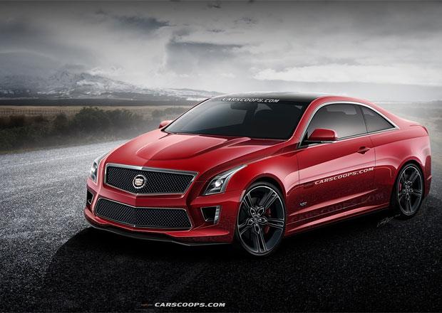 Cadillac ATS-V Coupe: Fanoušek navrhl konkurenta RS5 a C 63 AMG