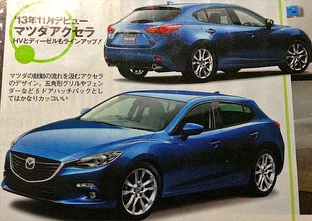 Mazda 3: Zveřejnil japonský časopis fotky nové generace ?