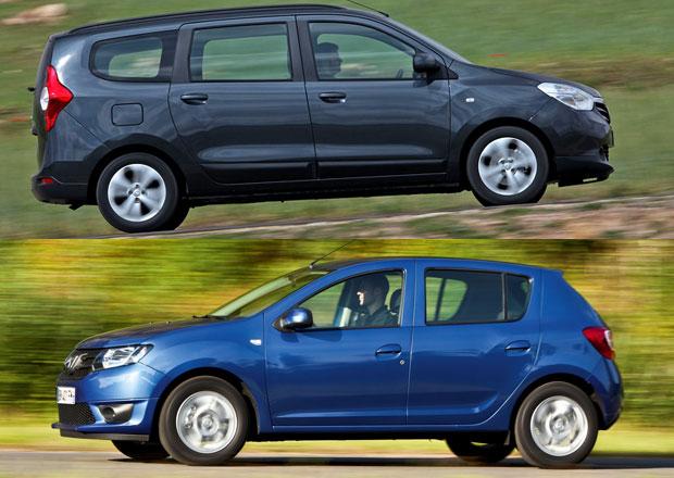 Dacia zdražuje, vyšší ceny mají Sandero a Lodgy