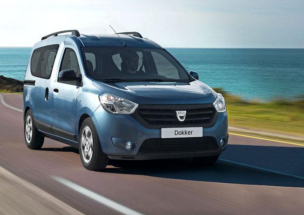 Dacia Dokker stojí 199.900 Kč, Dokker Van 159.900 Kč